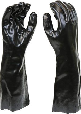 West Chester 12018-l 12018 chemical resistant PVC coated Gloves