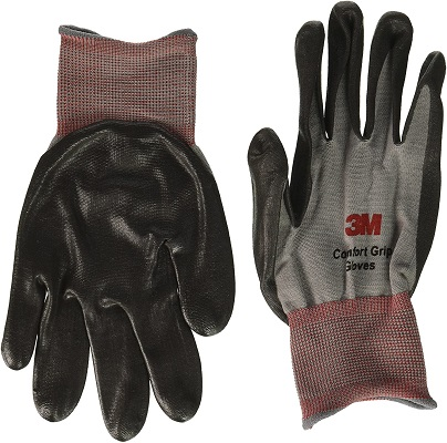 2 Pairs 3M Nitrile Foam Coated Comfort Gloves